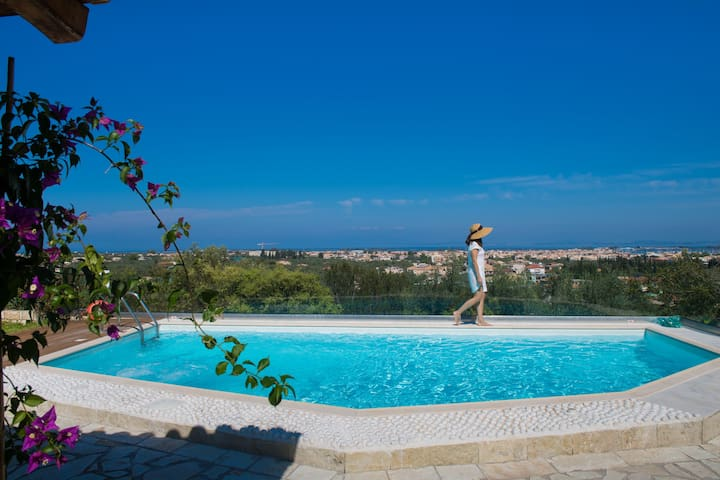 Alea Resort -Villa Phedra with a great sea view - Levkas - Villa