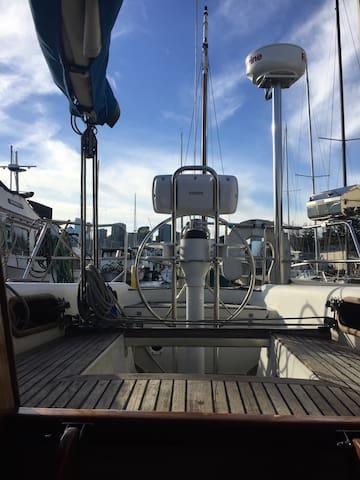 Sailboat on Lake Union - Seattle - Boot