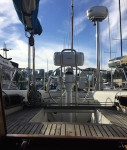 Sailboat on Lake Union - Seattle - Hajó