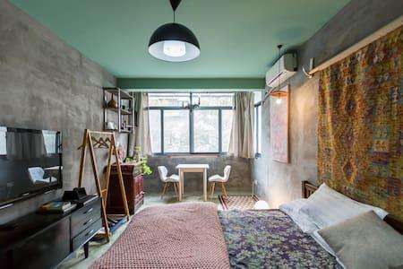 400m (Metro) Gray Island 紧靠地铁11号线枫桥路站设计公寓 - Shanghai - Apartment