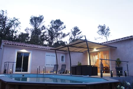 Luxury Villa with Private Pool and Breathtaking - Nans-les-Pins - Villa