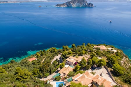 *Family Maisonette 3-4 px. & panoramic sea view* - Zakinthos - Appartement