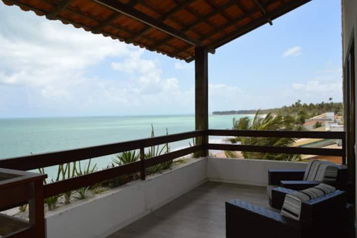 Cobertura Beira-Mar - Praia de Ipioca - AL