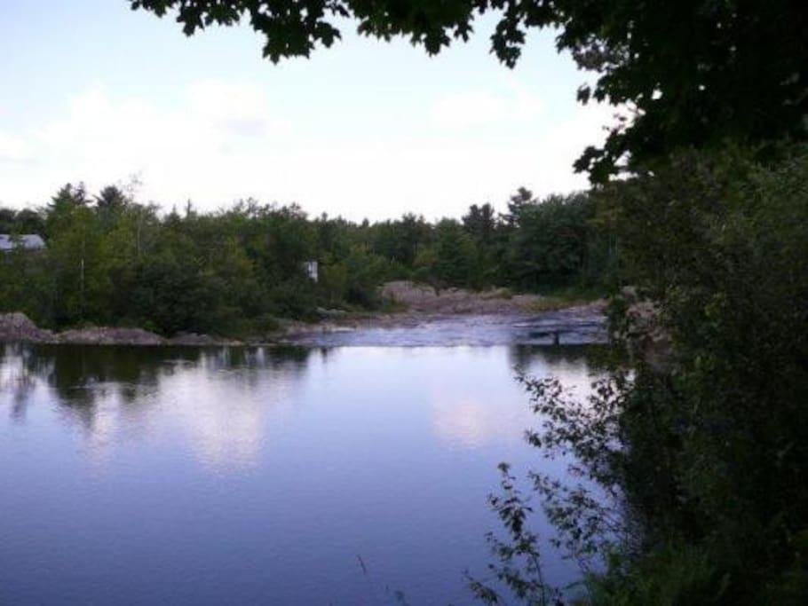 Rivière baignable