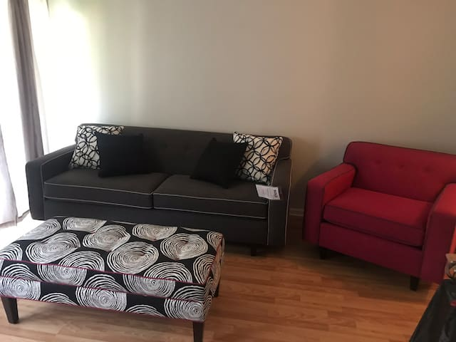 Entire apt. avail. 1 BR 1BATH Wash/dry INC.