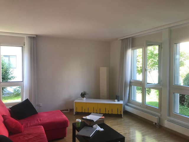 Modern apartment 5 min from Zug central station