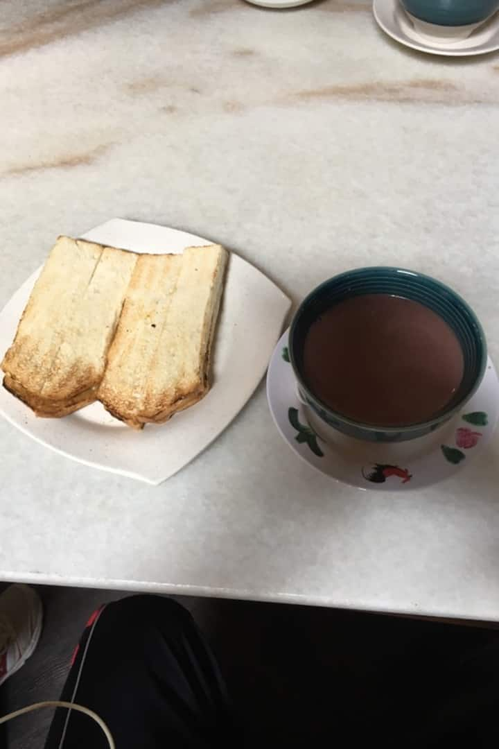 "Toasts & ""Cham"""