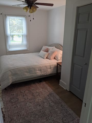 Bedroom #1: Queen bed- soft