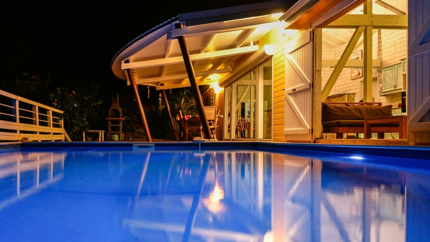 Villa Coco: vue mer, piscine, tout confort