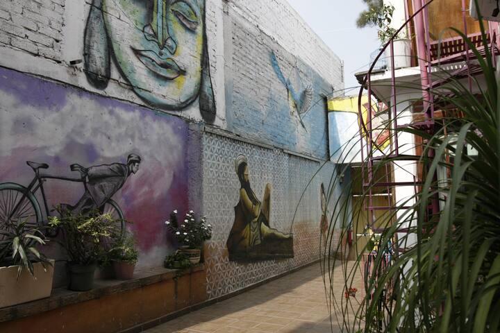Cuarto en Casa Cultural - 10 min a UNAM y Metro