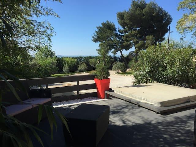Maison avec Spa et vue mer - Marsylia - Dom