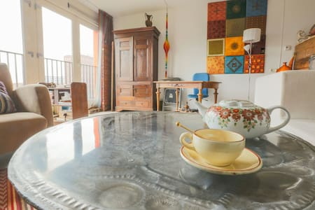 Sunny Vintage Apartment - Amsterdam-Zuidoost - Appartement