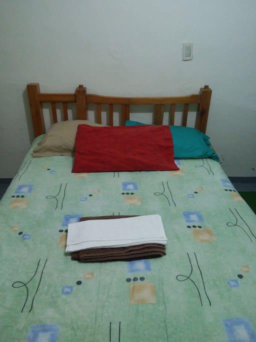 Habitación matrimonial/Double bed