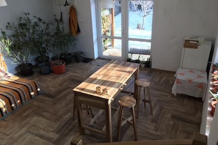 Open space appartment