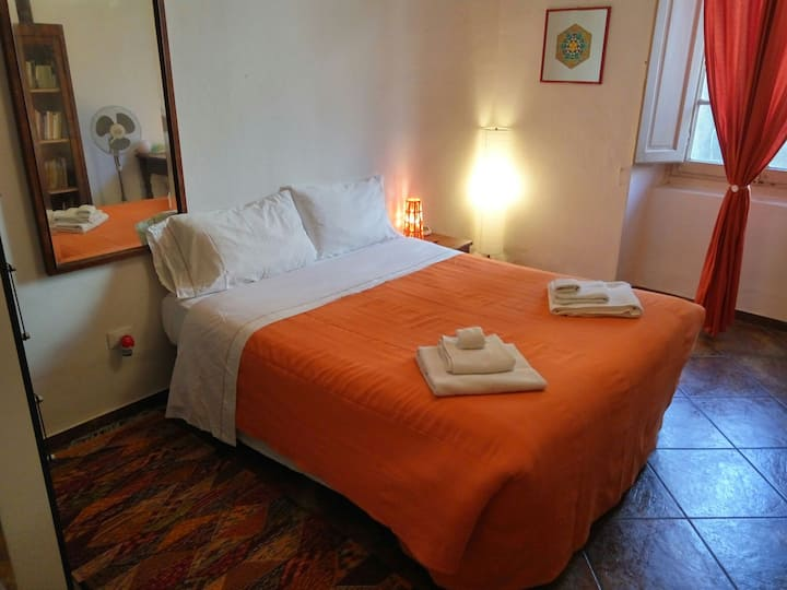 APRITISESAMO Double Room ORANGE