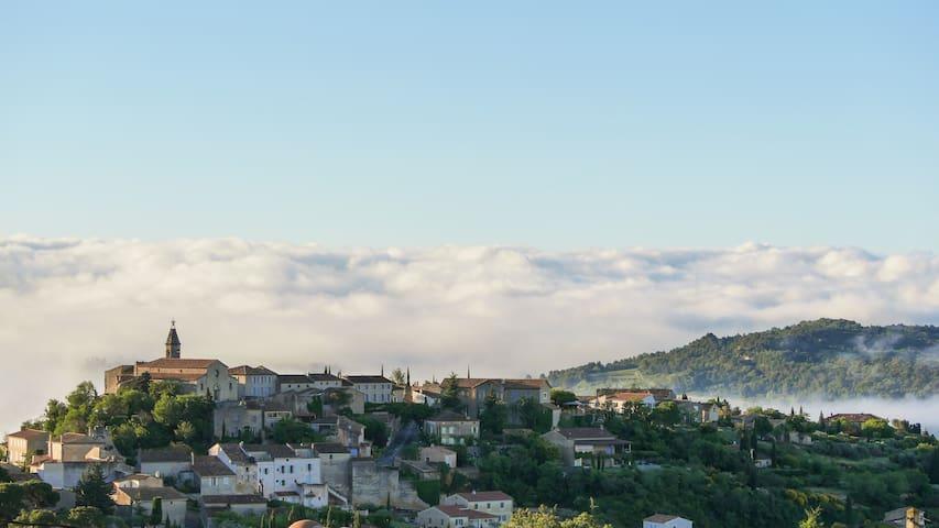 A l'aube du Ventoux - 8 beds - fantastic view - Crillon-le-Brave - House