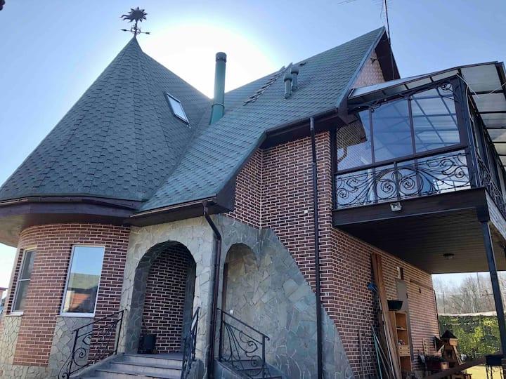 Дом для отдыха рядом с городом
