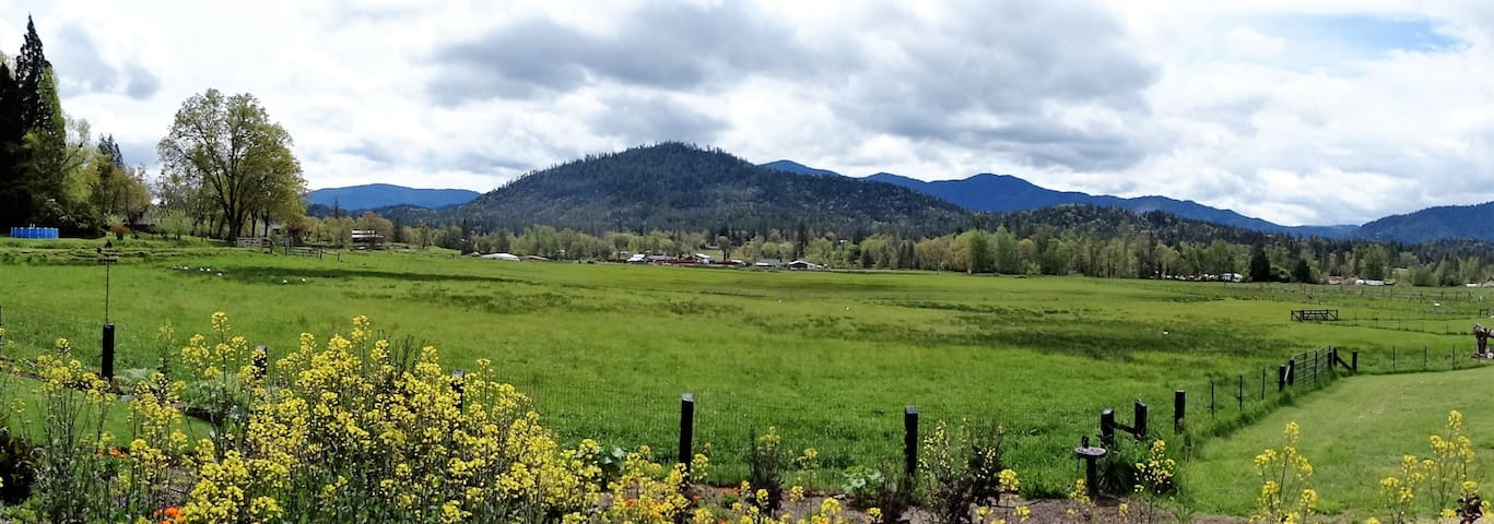 Jerome Prairie Home- Grants Pass Country Living ! - Grants Pass - House