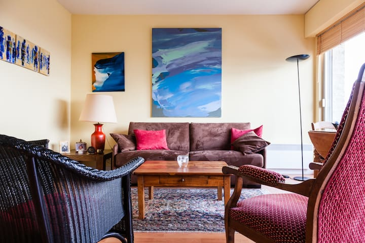 Sunny apartment -  sea views over Deauville!