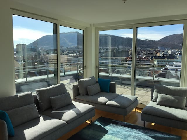 Best view and location in Bergen! - Bergenhus - Apartment