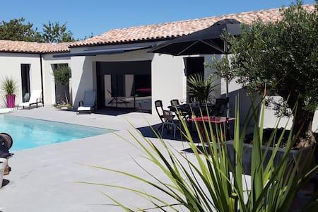 Maison 3 chambres avec piscine - Saint-Xandre - Casa