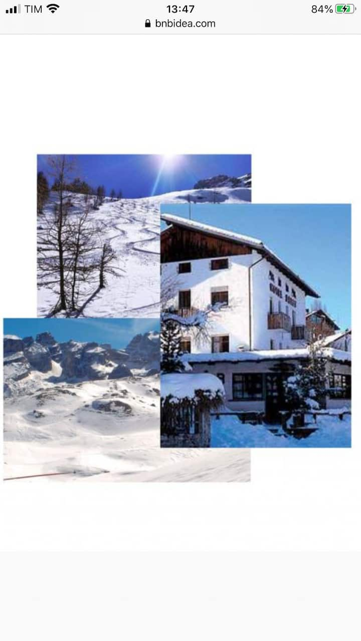Situated in the heart of ski resort