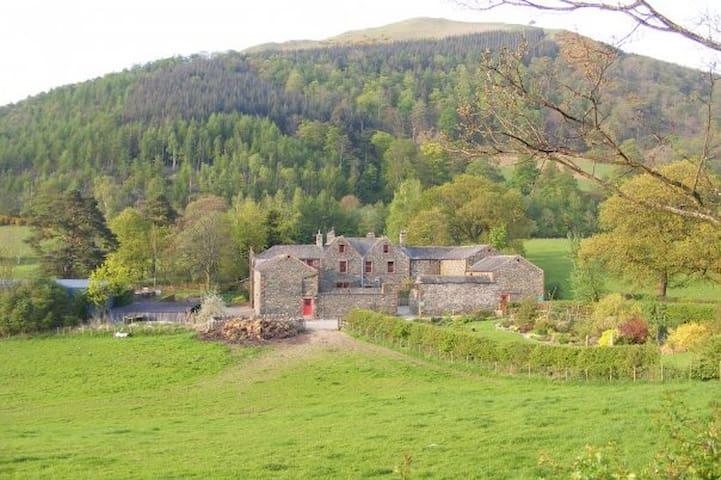 St. Cynderns cottage, garden room