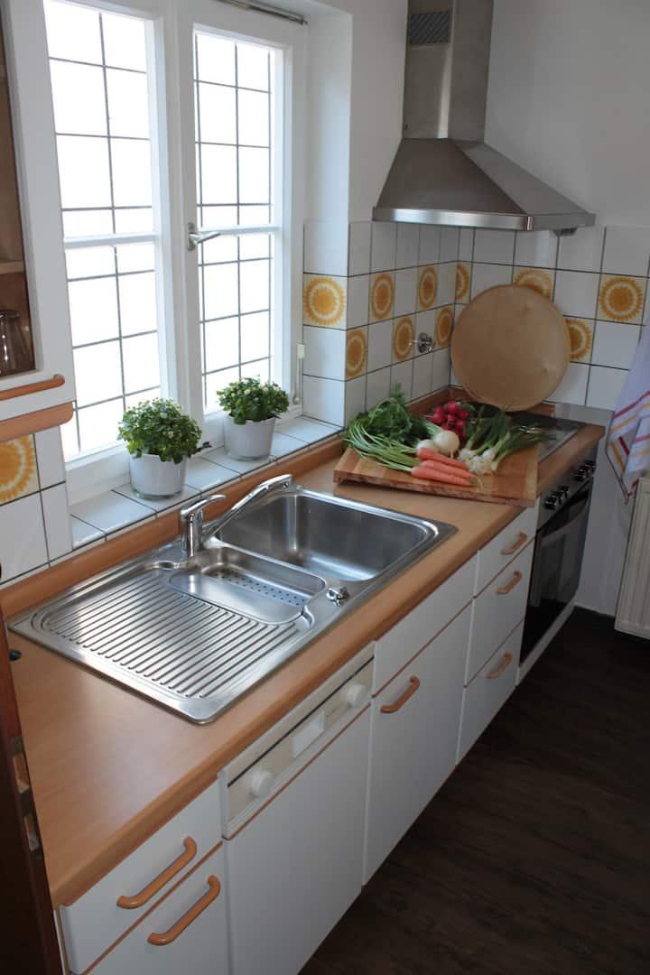 Ferienhaus Lena, (Seebach), Ferienhaus 80qm, 2 Schlafzimmer, max. 6 Personen