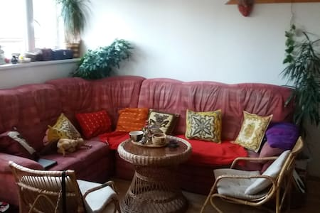 Sofa in nice flat in town centre - Polička - Loft