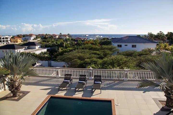 Luxurious house with pool near the beach