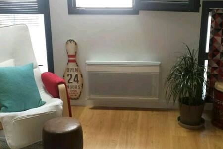 Chambre privée dans loft vintage - Mennecy - อพาร์ทเมนท์