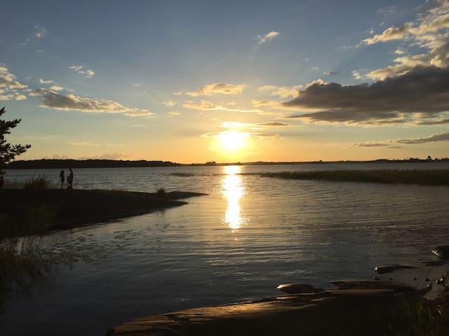 Sjönära boende på Tynäs, Hammarö