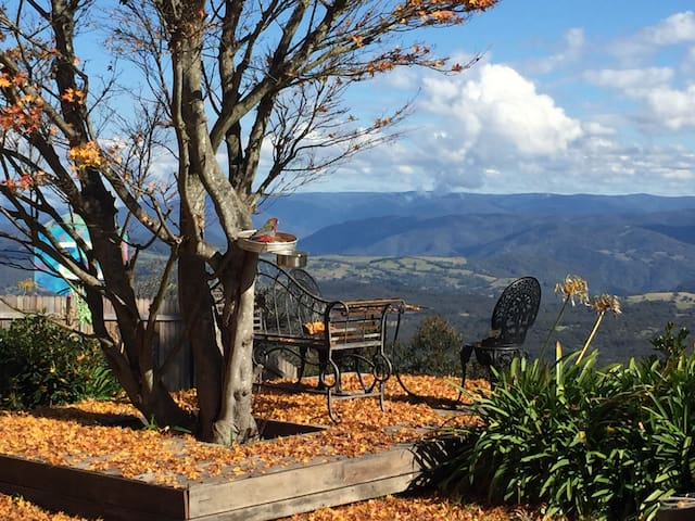 Private deck overlooking the Megalong