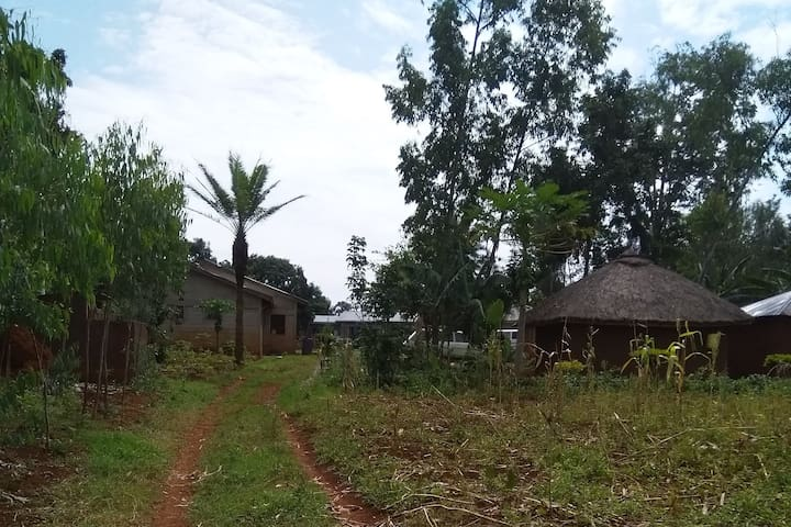 Mosbella cottage at an ancestral homestead village