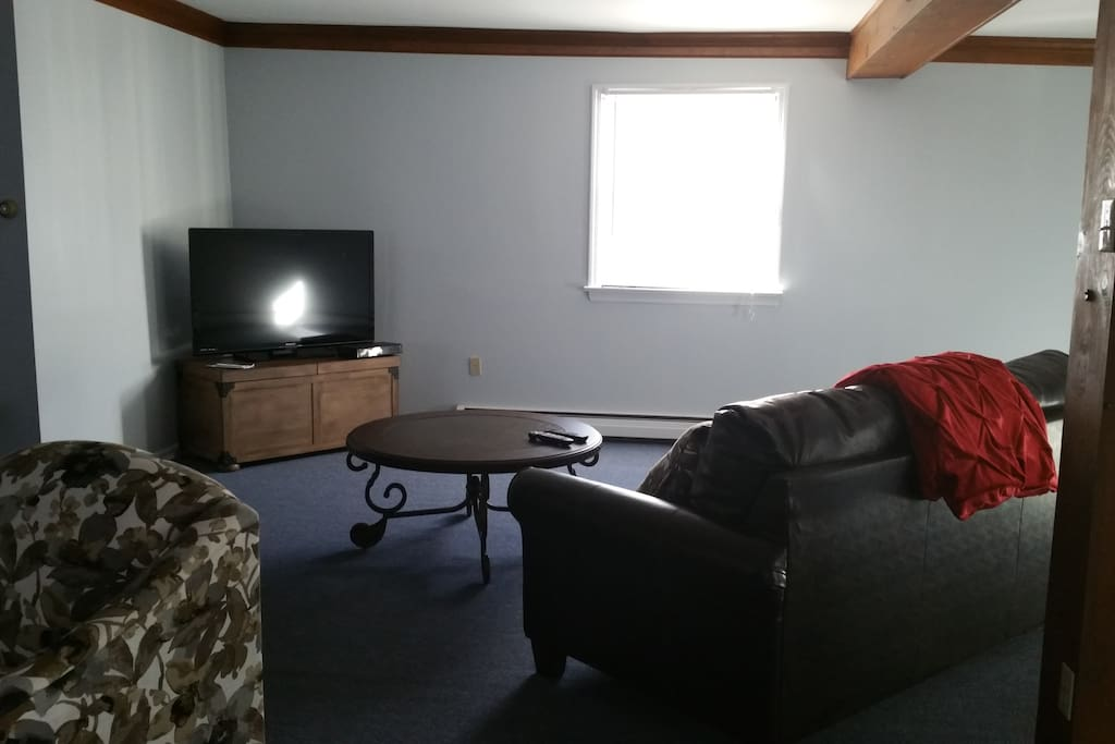 TV area in living room