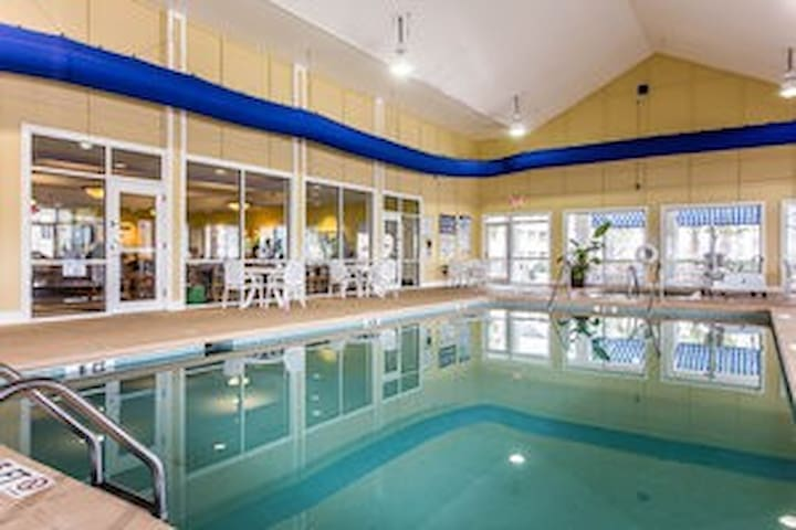 Upscale Resort with Indoor Heated Pool