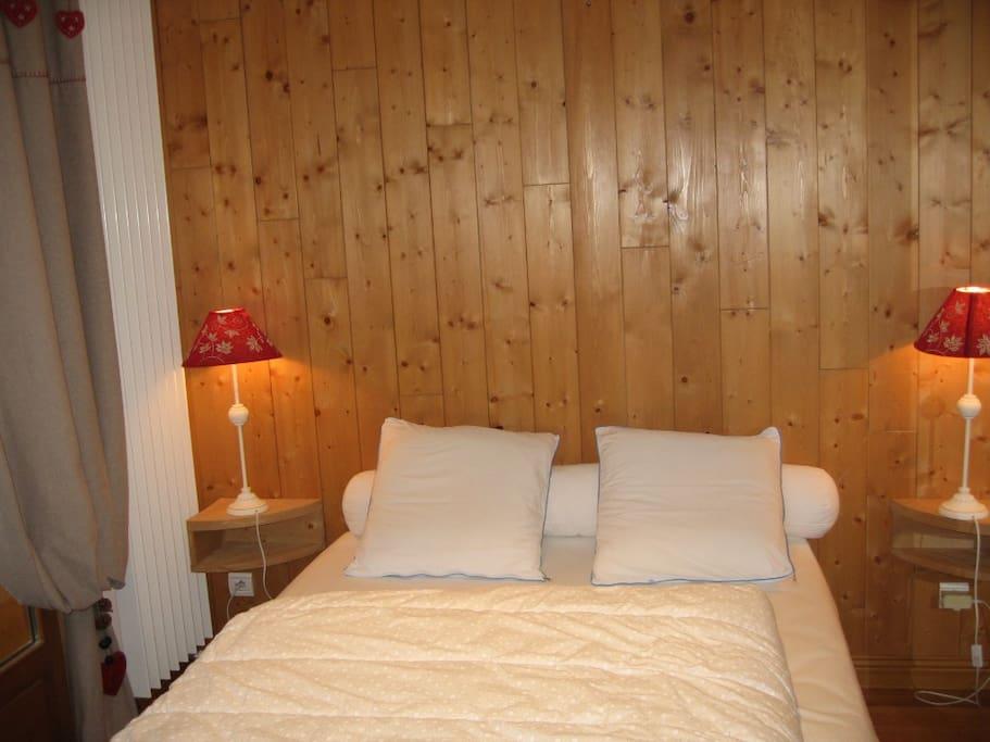 Chambre lit 140*190