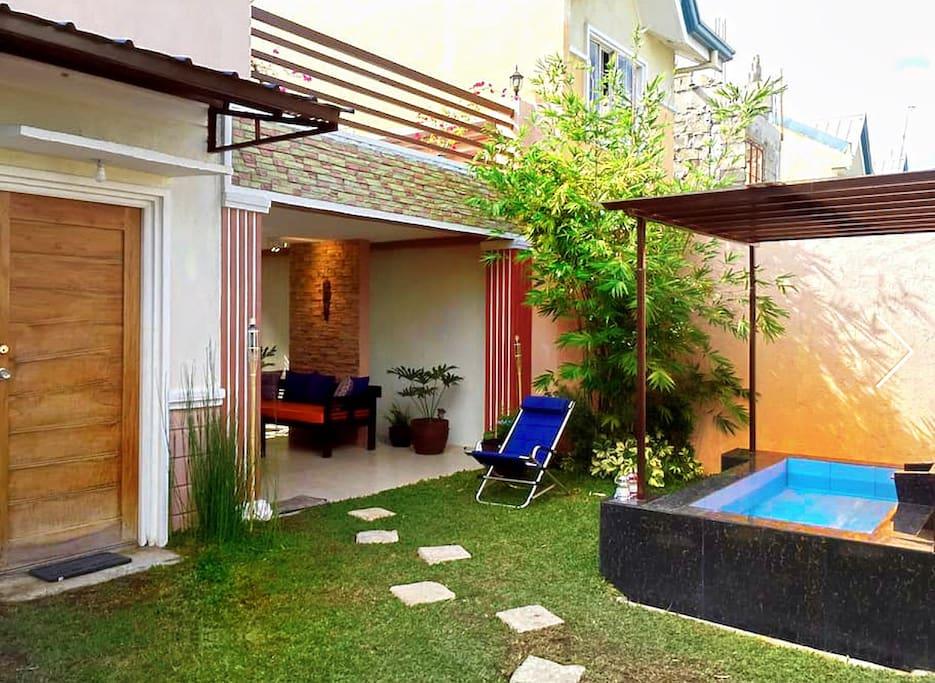 Resort-like vacation house