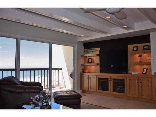 Spectacular beach condo, clean, cozy, new upgrades - Indian Shores