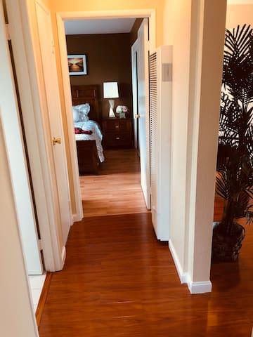 Nice new hardwood floor