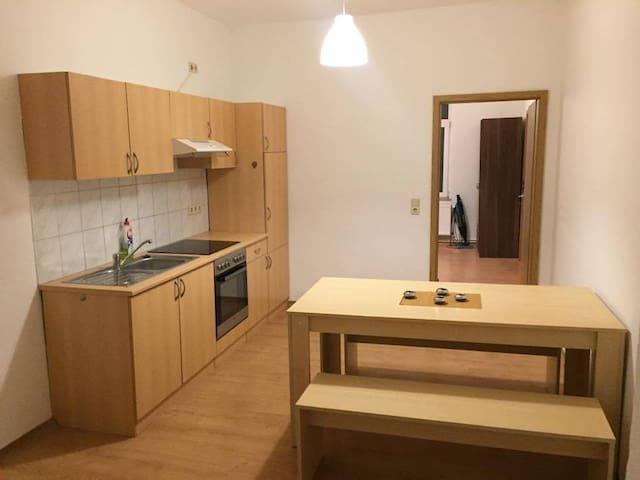 Möbilierte Wohnung in Wismar - Wismar - Lägenhet