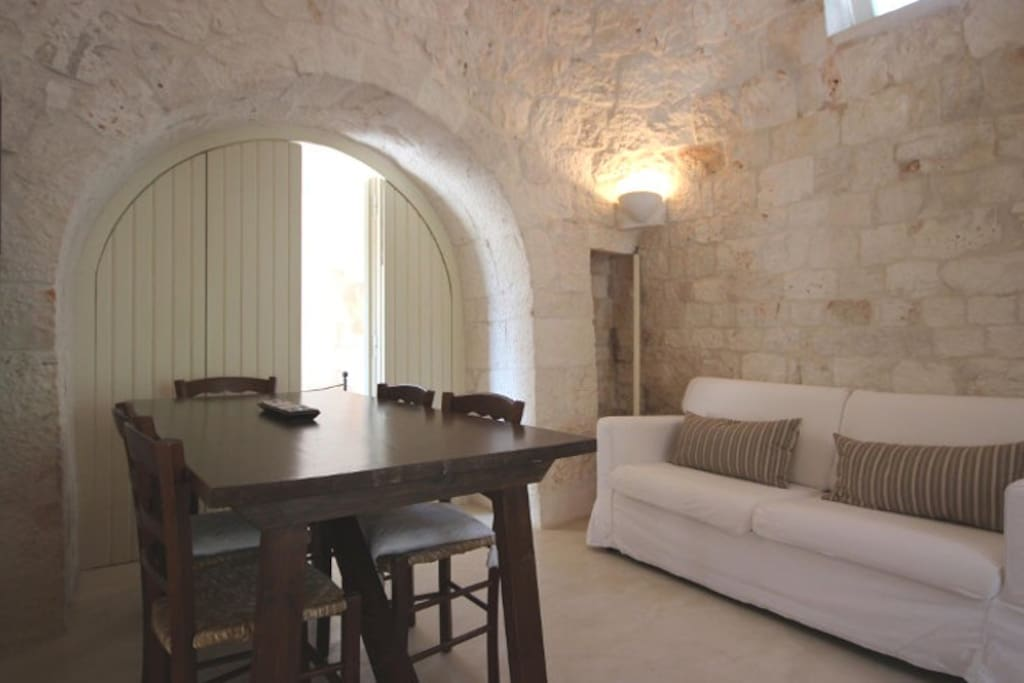 Living room in Trullo 1