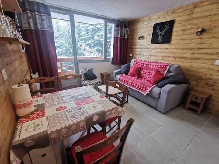 Appartement Ménuires pied des pistes-50% hiver