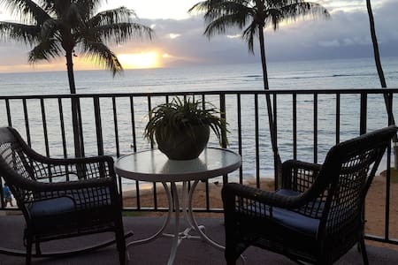 SOOTHING WAVES WITH A 180* OCEAN VIEW - Lahaina - Appartement