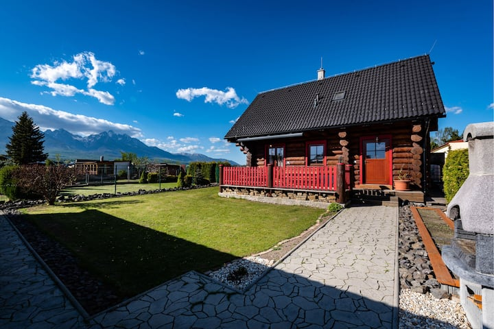 FAIRY TAIL SLAVKOV - HIGH TATRAS COTTAGE - 6-8pax