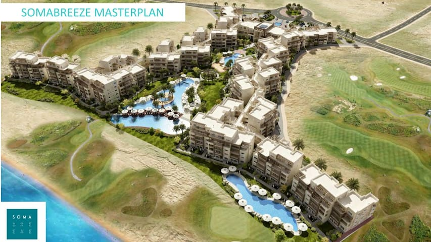 Buy Apartment and enjoy 5 stars life on Soma Bay - Hurghada - Apartamento