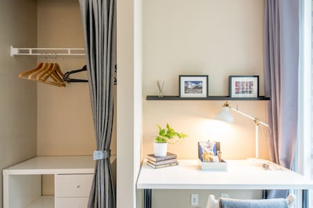 Beautiful Townhouse Guest Bedroom/Bathroom - Vancouver - Hus