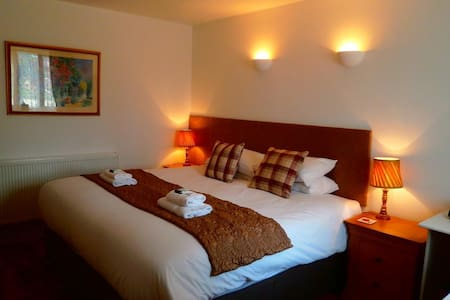Double room 3 at The Fox and Hounds