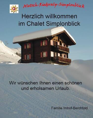 Chalet Simplonblick - 1. Stock - Riederalp - Apartment