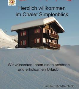 Chalet Simplonblick - 1. Stock - Riederalp - Byt